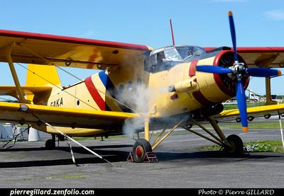 Pierre GILLARD: Antonov An-2 C-FAKA &emdash; 2015-412775