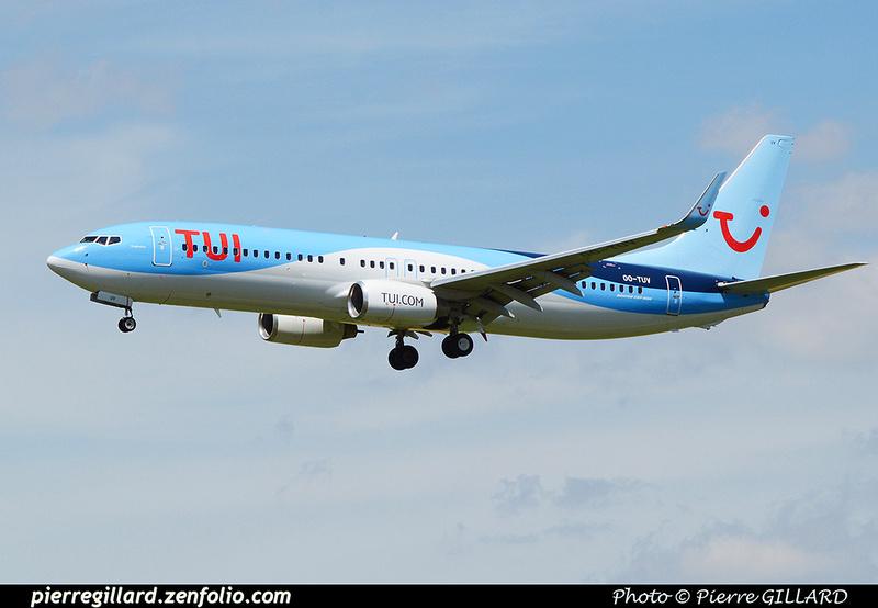Pierre GILLARD: TUI Airlines Belgium &emdash; 2016-511970