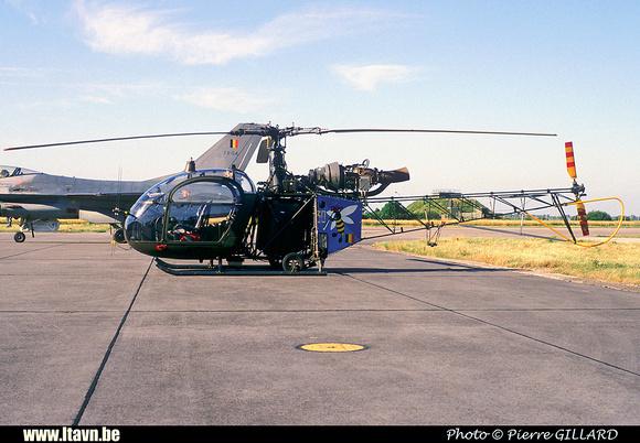 Pierre GILLARD: Aéronefs : Alouette II Astazou &emdash; A80-006599