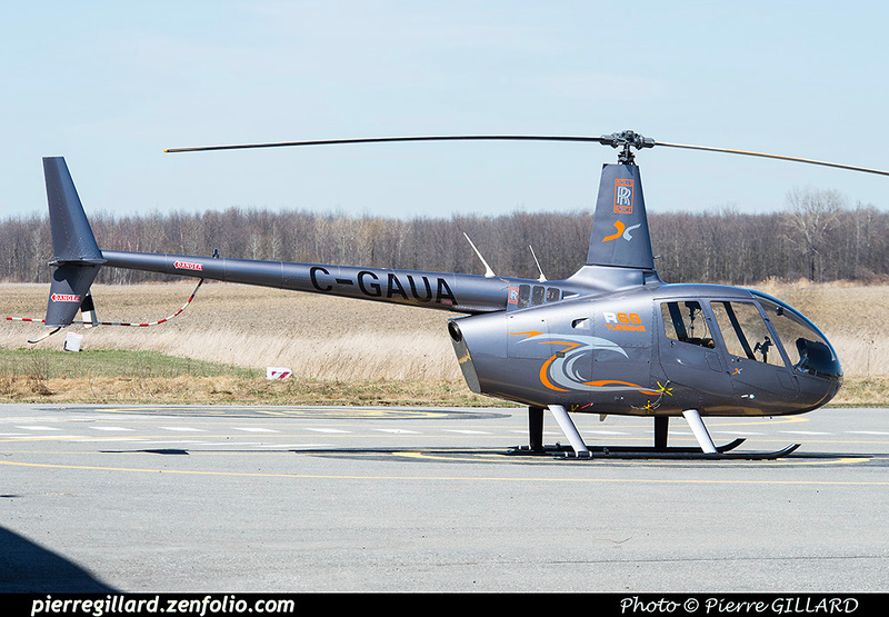 Pierre GILLARD: Canada - Hélicoptères privés - Private Helicopters &emdash; 2016-416006