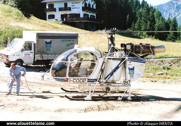 Pierre GILLARD: Italy - Geomarche Elicotteri &emdash; 005271