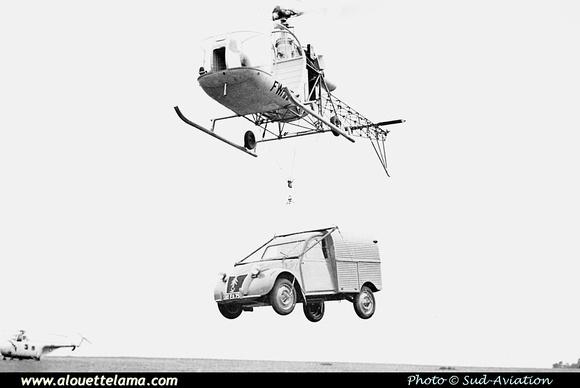Pierre GILLARD: Prototypes : SE-3130 Alouette II &emdash; 02-001949