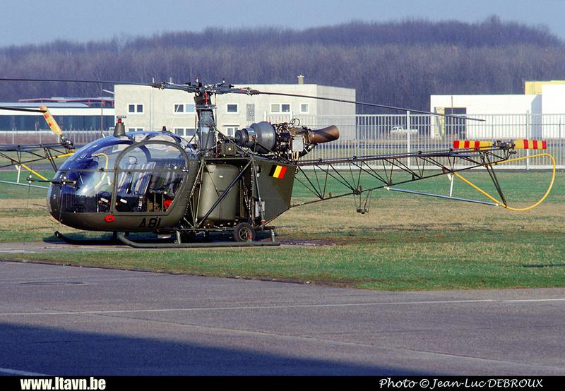 Pierre GILLARD: Aéronefs : Alouette II Astazou &emdash; A81-006603