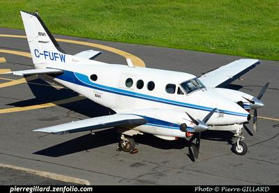 Pierre GILLARD: Beechcraft King Air 90 C-FUFW &emdash; 2015-410536