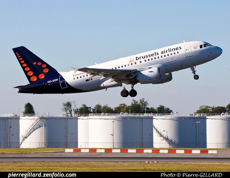 Pierre GILLARD: Brussels Airlines &emdash; OO-SSW-2016-321818