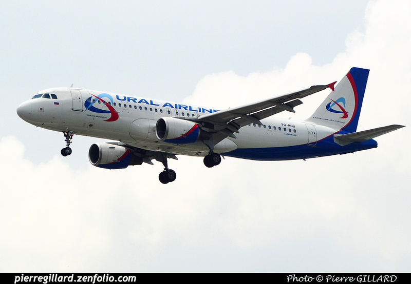 Pierre GILLARD: Ural Airlines - Ура́льские авиали́нии &emdash; 2016-517593