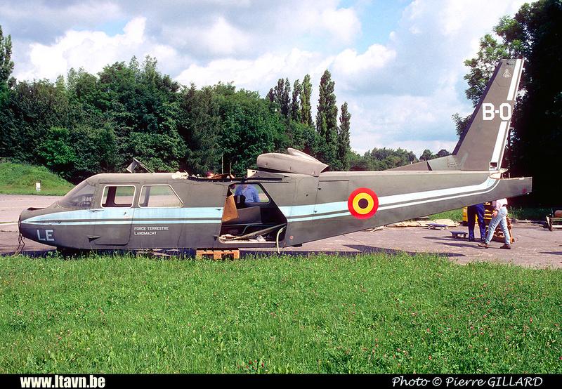 Pierre GILLARD: Aéronefs : Britten Norman BN-2A Islander &emdash; B05-020112