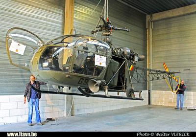 Pierre GILLARD: 2015-08-29 - Transport de l'Alouette II G95 de Diegem à Brasschaat &emdash; 2015-WVL-0100