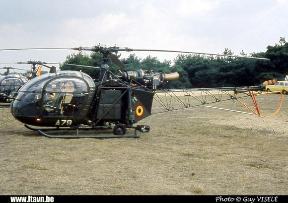 Pierre GILLARD: Aéronefs : Alouette II Astazou &emdash; A79-030144