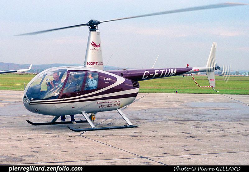 Pierre GILLARD: 2000-10-14 - Portes ouvertes chez Pratt & Whitney Canada à Saint-Hubert &emdash; 2000-048-6-35A