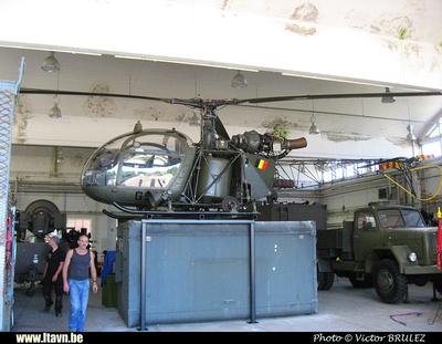 Pierre GILLARD: 2015-08-29 - Transport de l'Alouette II G95 de Diegem à Brasschaat &emdash; 008856