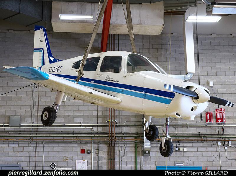 Pierre GILLARD: Piper PA28 C-GXGC &emdash; 2016-608083