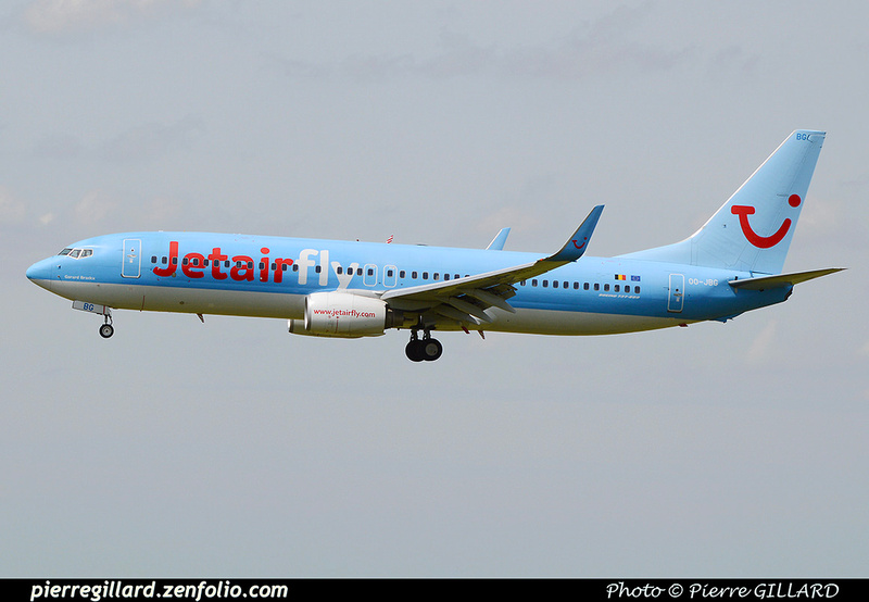 Pierre GILLARD: Jetair Fly &emdash; OO-JBG-2016-511998