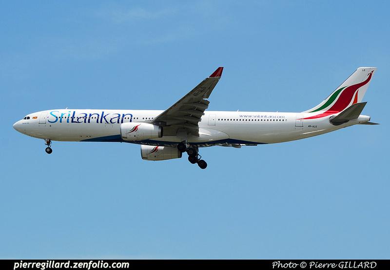 Pierre GILLARD: SriLankan Airlines - ශ්රී ලංකන් ගුවන් සේවය - ஸ்ரீலங்கன் ஏர்லைன்ஸ் &emdash; 2016-517462