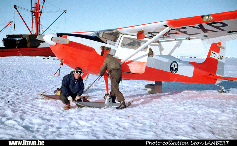 Pierre GILLARD: 1965-1966 - Expédition Antarctique &emdash; H0756