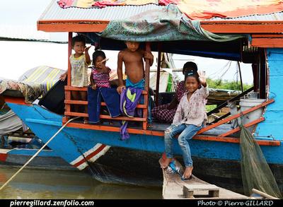 Pierre GILLARD: De Battambang à Siem Reap par bateau &emdash; 2014-502465