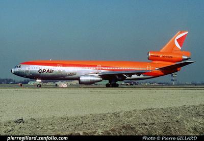 Pierre GILLARD: CP Air &emdash; 005745