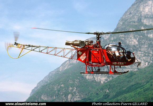 Pierre GILLARD: Switzerland - Heli TV &emdash; 006203