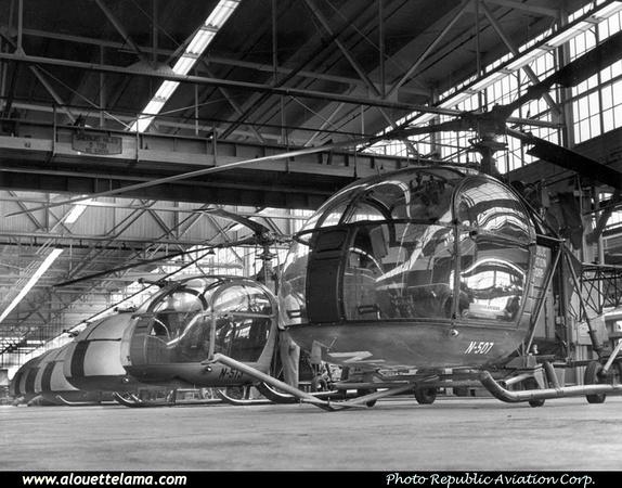 Pierre GILLARD: U.S.A. - Republic Aviation Corporation &emdash; 008972