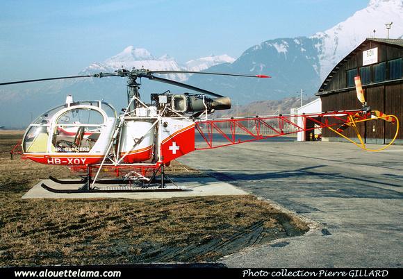 Pierre GILLARD: Air Glaciers - Alouettes & Lamas &emdash; XOY-006773