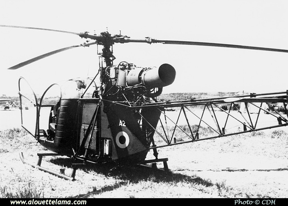Pierre GILLARD: Aéronefs : Alouette II Artouste &emdash; A02-000003