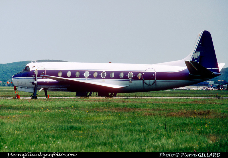 Pierre GILLARD: Vickers Viscount C-FTID-X &emdash; 005724