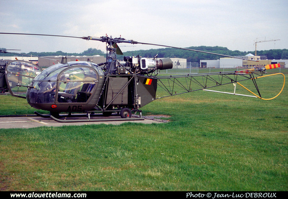 Pierre GILLARD: Aéronefs : Alouette II Artouste &emdash; A05-006124