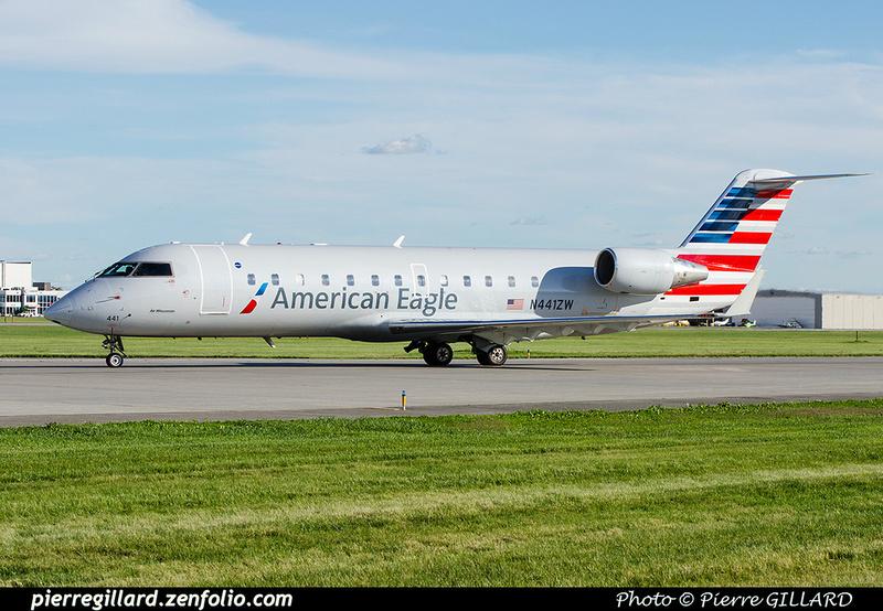 Pierre GILLARD: American Airlines & American Eagle &emdash; 2016-701112