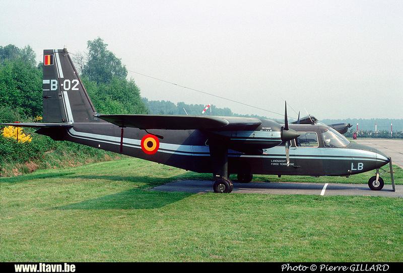 Pierre GILLARD: Aéronefs : Britten Norman BN-2A Islander &emdash; B02-020104