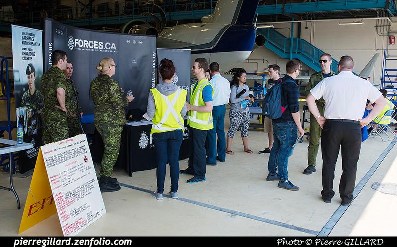 Pierre GILLARD: 2016-05-11 - Journée de l'Aviation royale canadienne à l'ÉNA &emdash; 2012-607693