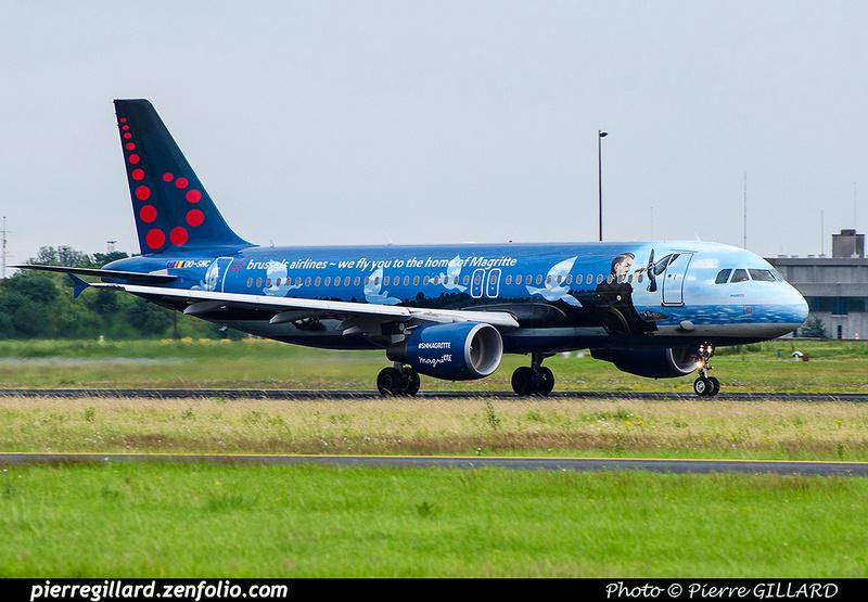 Pierre GILLARD: Brussels Airlines &emdash; OO-SNC-2016-701496