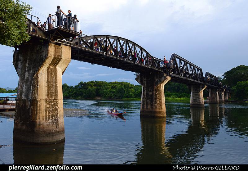 Pierre GILLARD: Thaïlande : Pont de la Rivière Kwai (Kanchanaburi) &emdash; 2016-514341