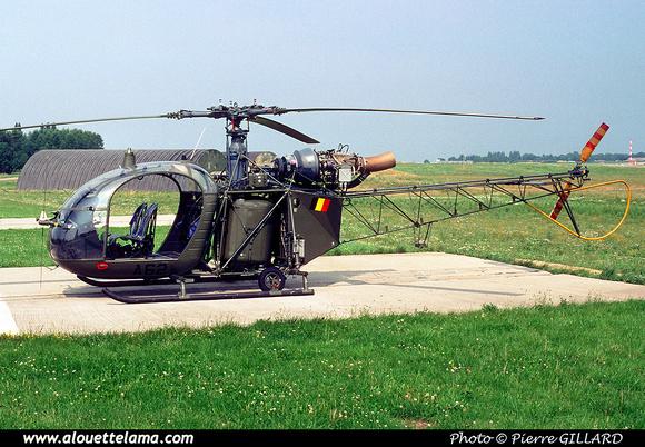 Pierre GILLARD: Aéronefs : Alouette II Astazou &emdash; A62-006530