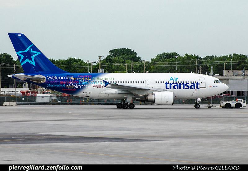 Pierre GILLARD: Air Transat &emdash; 2017-703163