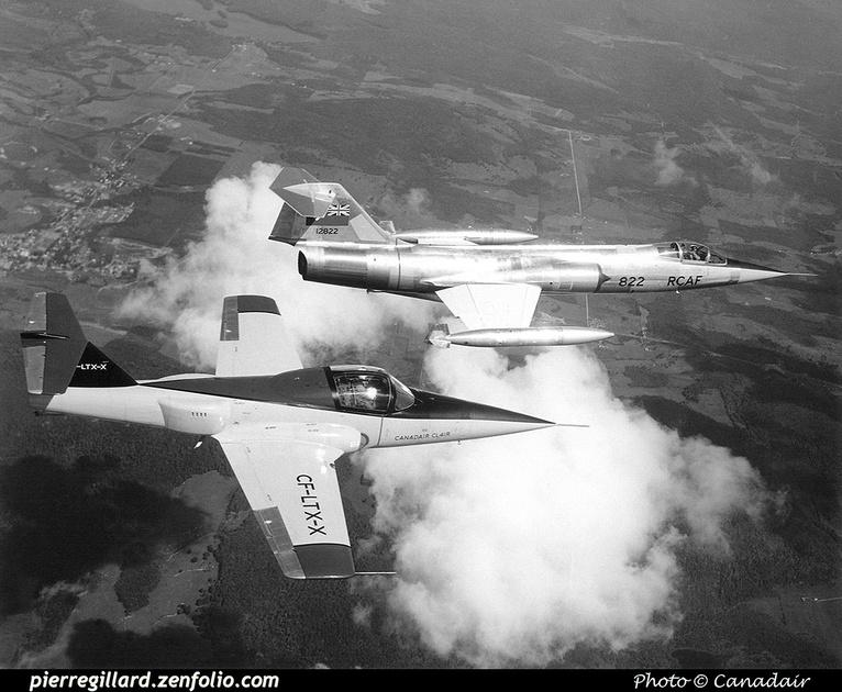 Pierre GILLARD: Canada - Canadair &emdash; 008315