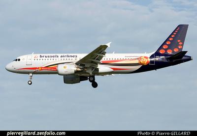 Pierre GILLARD: Brussels Airlines &emdash; OO-SND-2014-319996