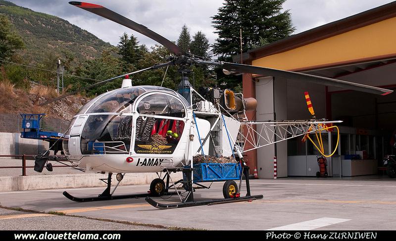 Pierre GILLARD: Italy - Pellissier Helicopter &emdash; 008331