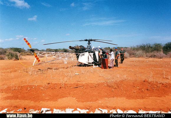 Pierre GILLARD: Aéronefs : Alouette II Astazou &emdash; A47-000070