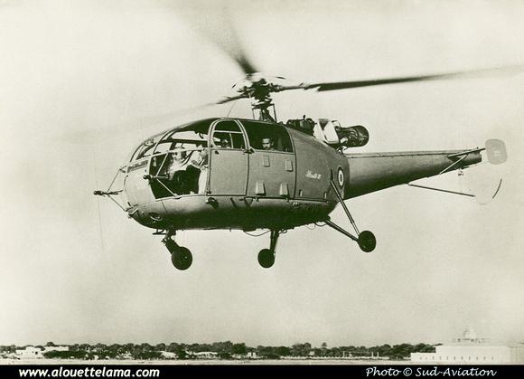 Pierre GILLARD: Prototypes : SE-3160 Alouette III &emdash; 001973