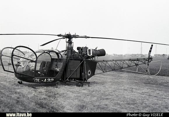 Pierre GILLARD: Aéronefs : Alouette II Artouste &emdash; A32-030223