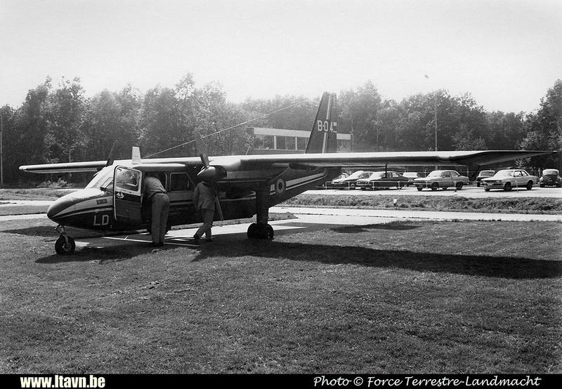 Pierre GILLARD: Aéronefs : Britten Norman BN-2A Islander &emdash; B04-008384
