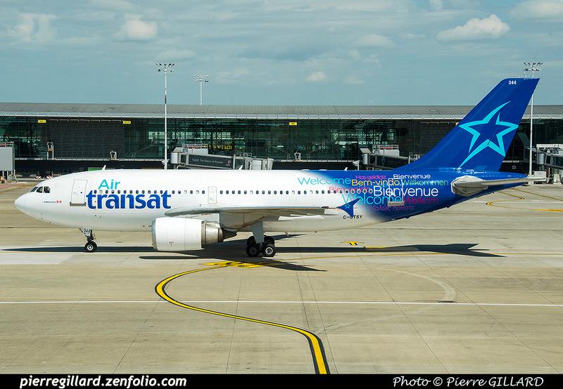 Pierre GILLARD: Air Transat &emdash; 2017-519845