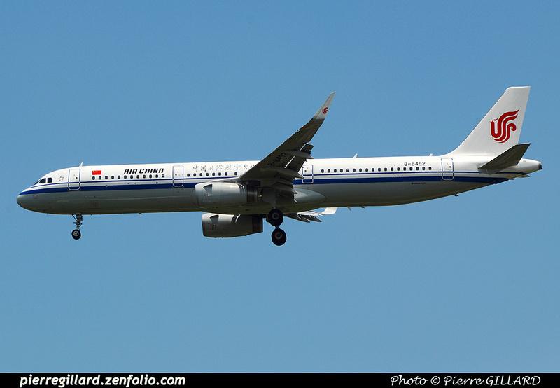 Pierre GILLARD: Air China - 中国国际航空股份有限公司 &emdash; 2016-517424