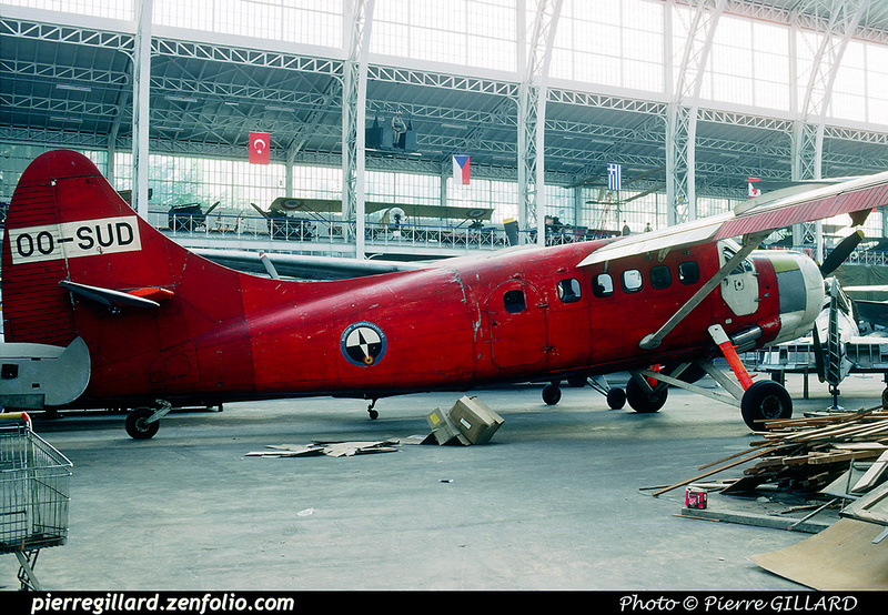 Pierre GILLARD: Belgium : Brussels Air Museum &emdash; 020245