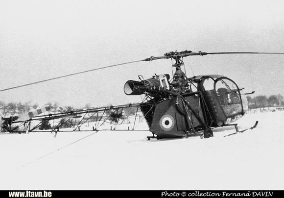 Pierre GILLARD: Aéronefs : Alouette II Artouste &emdash; A20-008380