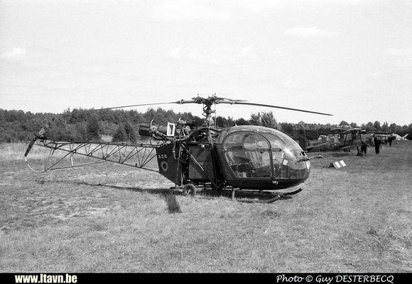 Pierre GILLARD: Aéronefs : Alouette II Artouste &emdash; A28-008965