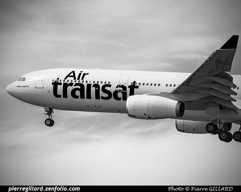 Pierre GILLARD: Air Transat &emdash; 2016-415653