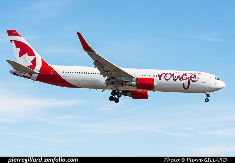 Pierre GILLARD: Air Canada Rouge &emdash; 2016-415755
