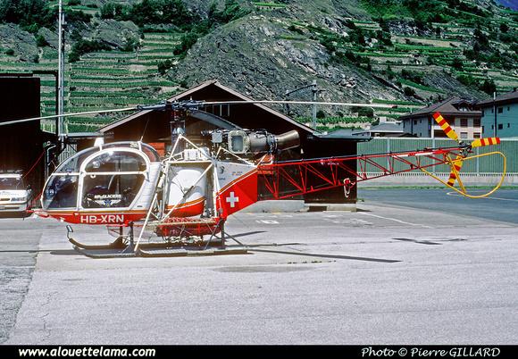 Pierre GILLARD: Air Glaciers - Alouettes & Lamas &emdash; XRN-006677