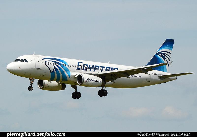 Pierre GILLARD: Egyptair &emdash; 2016-512011